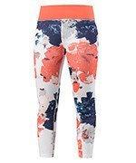 spodnie tenisowe damskie HEAD VISION GRAPHIC 7/8 PANT / 814247 WHCO