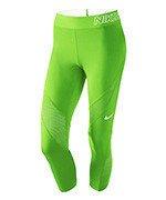 spodnie termoaktywne damskie 3/4 NIKE PRO HYPERCOOL CAPRI / 725614-313