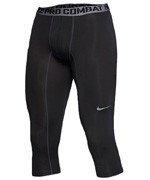 spodnie termoaktywne męskie NIKE PRO COMBAT CORE COMPRESSION 3/4 TIGHT / 586918-010