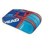 torba tenisowa HEAD CORE SUPERCOMBI / 283295 BLFL