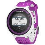 zegarek sportowy GARMIN FORERUNNER 220 HR white, violet