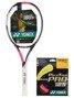 rakieta tenisowa YONEX EZONE AI 100 LITE PINK + naciąg PolyTour Pink