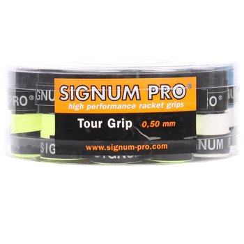 Owijki tenisowe SIGNUM PRO TOUR GRIP X30 BOX MIX