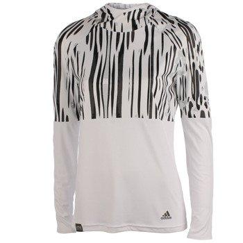 bluza do biegania damska ADIDAS AKTIV LONGSLEEVE HOOD / F95226