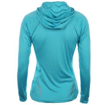 bluza do biegania damska ASICS LONGSLEEVE 1/2 ZIP HOODY