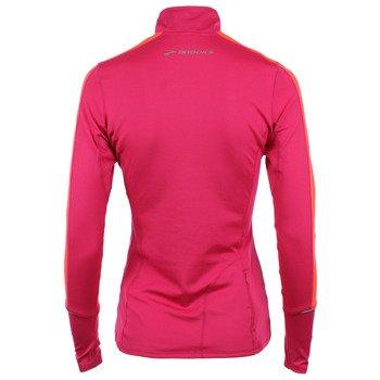 bluza do biegania damska BROOKS ESSENTIAL LONG SLEEVE 1/2 ZIP II