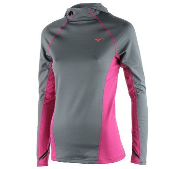 bluza do biegania damska MIZUNO  WARMALITE HOODY / J2GC570405