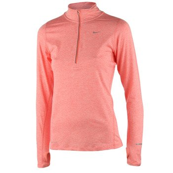 bluza do biegania damska NIKE ELEMENT HALF ZIP / 481320-654