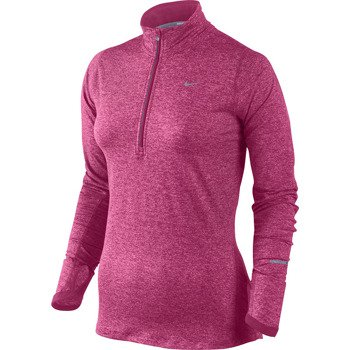 bluza do biegania damska NIKE ELEMENT HALF ZIP / 481320-691
