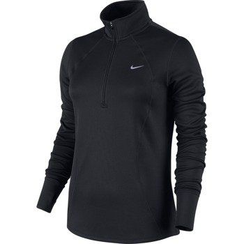 bluza do biegania damska NIKE RACER LONG SLEEVE 1/2 ZIP TOP / 648358-010