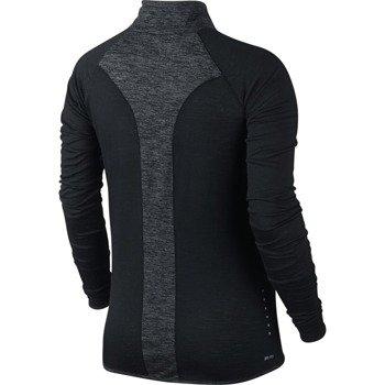 bluza do biegania damska NIKE WOOL LONGSLEEVE  HALF ZIP / 686965-010