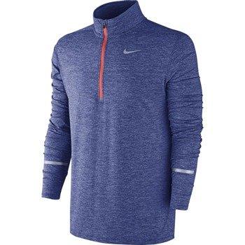 bluza do biegania męska NIKE DRI-FIT ELEMENT HALF ZIP / 683485-457