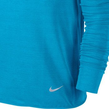 bluza do biegania męska NIKE DRI-FIT FEATHER FLEECE CREW / 598973-415