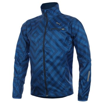 bluza do biegania męska PUMA GRAPHIC LIGHTWEIGHT JACKET