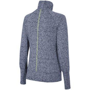bluza sportowa damska 4F GRANATOWY MELANŻ / T4Z16-BLDF002