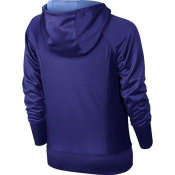 bluza sportowa dziewczęca NIKE KO 3.0 OVER THE HEAD HOODIE / 695253-512