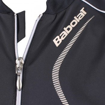 bluza tenisowa dziewczęca BABOLAT JACKET CLUB