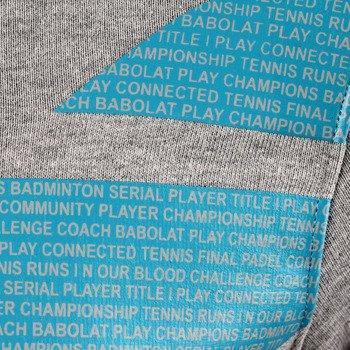 bluza tenisowa męska BABOLAT SWEAT HOODIE CORE / 40F1590-107