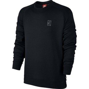 bluza tenisowa męska NIKE COURT FLEECE CREW / 744010-010