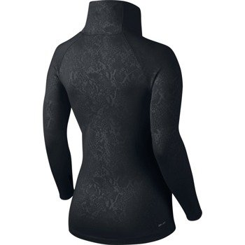 bluza termoaktywna damska NIKE PRO WARM EMBOSSED HEIGHTS VIXEN RAGLAN ZIP / 685262-010