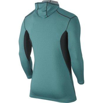 bluza termoaktywna męska NIKE PRO COMBAT HYPERWARM FITTED DRI-FIT MAX ATHLETE HOODED / 624878-300