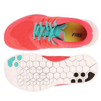 buty do biegania damskie NIKE FREE 5.0 / 642199-600
