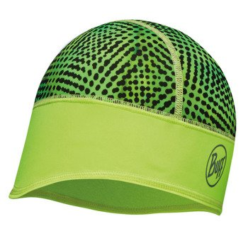 czapka do biegania BUFF TECH FLEECE HAT BUFF XYSTER YELLOW FLUOR / 113387.117.10