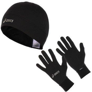 czapka i rękawiczki ASICS RUNNING PACK / 114706-0900