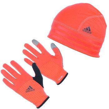 czapka i rękawiczki do biegania ADIDAS RUN CLIMALITE GIFT SET / M67556