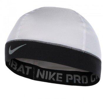 czapka sportowa NIKE PRO COMBAT BANDED SKULL CAP / NHK04-100OS