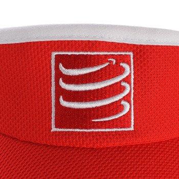 daszek biegowy COMPRESSPORT VISIOR CAP red / RACS-0024