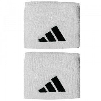 frotki tenisowe ADIDAS TENNIS WRISTBAND S 2PP white/black