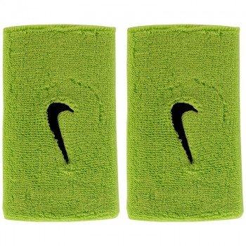 frotki tenisowe NIKE SWOOSH DOUBLE-WIDE WRISTBANDS / AC0010-306