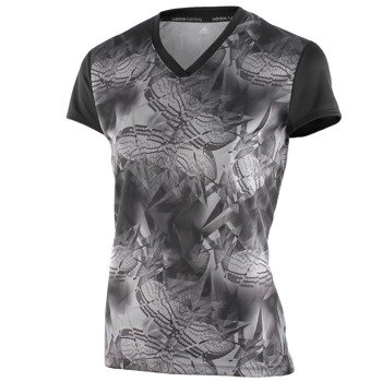 koszulka do biegania damska ADIDAS RESPONSE GRAPHIC SHORT SLEEVE TEE / AX6000