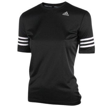 koszulka do biegania damska ADIDAS RESPONSE VARSITY SHORTSLEEVE TEE / AA5622