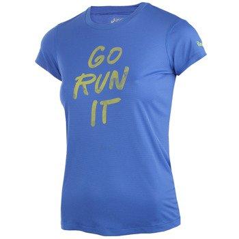 koszulka do biegania damska ASICS GRAPHIC SHORT SLEEVE TOP / 132111-8091