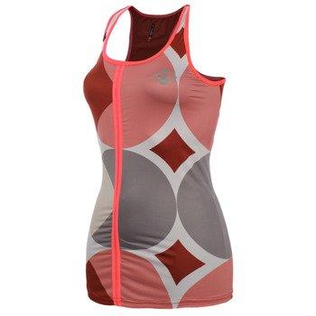 koszulka do biegania damska NEWLINE IMOTION PRINT TOP / 10767-272