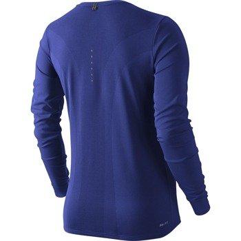 koszulka do biegania damska NIKE DRI-FIT CONTOUR LONG SLEEVE / 644707-455