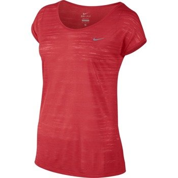 koszulka do biegania damska NIKE DRI FIT COOL BREEZE SHORTSLEEVE TOP / 644710-647
