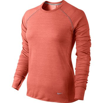 koszulka do biegania damska NIKE DRI FIT FLEECE RUN CREW / 588554-847