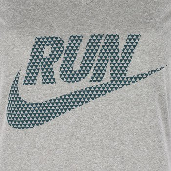 koszulka do biegania damska NIKE LEGEND V-NECK SHORTSLEEVE RUN SWOOSH / 588557-063