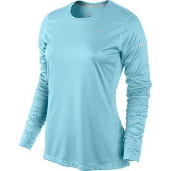 koszulka do biegania damska NIKE MILER LONGSLEEVE TOP / 519833-417