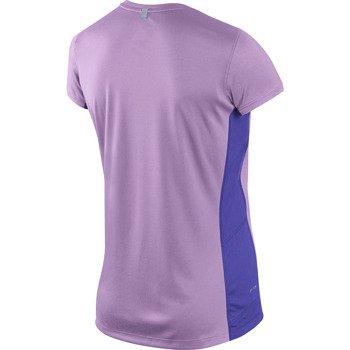 koszulka do biegania damska NIKE MILER SHORT SLEEVE CREW TOP / 519829-577