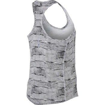 koszulka do biegania damska NIKE PRINTED MILER TANK / 644692-100
