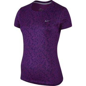 koszulka do biegania damska NIKE PRONTO MILER CREW / 719545-556