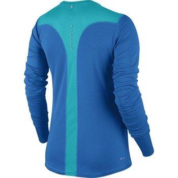 koszulka do biegania damska NIKE RACER LONG SLEEVE / 645445-435