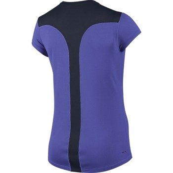 koszulka do biegania damska NIKE RACER SHORT SLEEVE / 645443-518