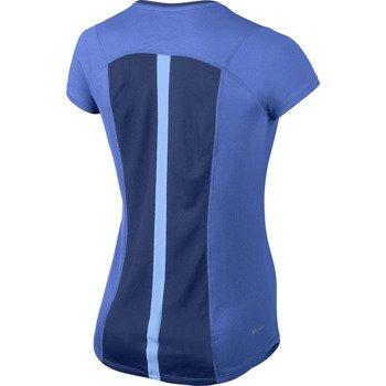 koszulka do biegania damska NIKE RACER SHORTSLEEVE TOP / 520276-439