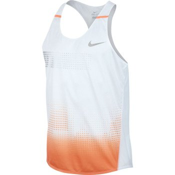 koszulka do biegania męska NIKE DISTANCE SINGLET / 547673-101