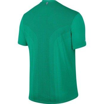 koszulka do biegania męska NIKE DRI-FIT CONTOUR RUNNING TOP SHORT SLEEVE / 800812-351
